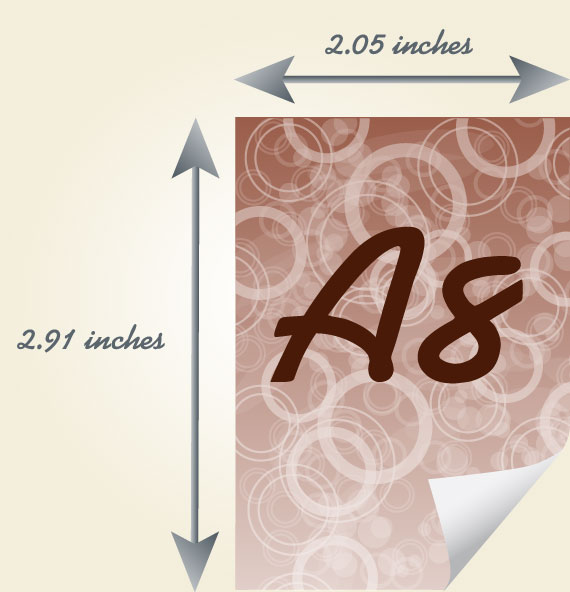 A8 Paper Size   All informations about A8 sheet of paper