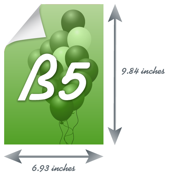 b5 paper size all informations about b5 sheet of paper